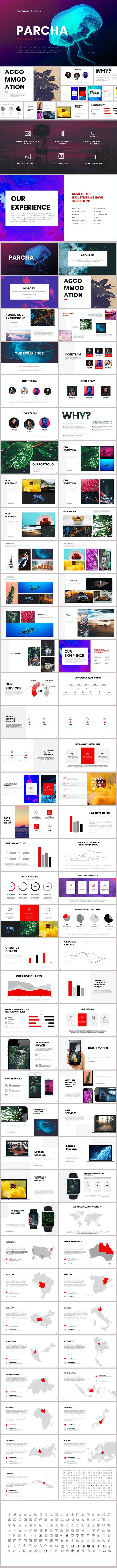 Parcha Powerpoint Template - PowerPoint Templates Presentation Templates
