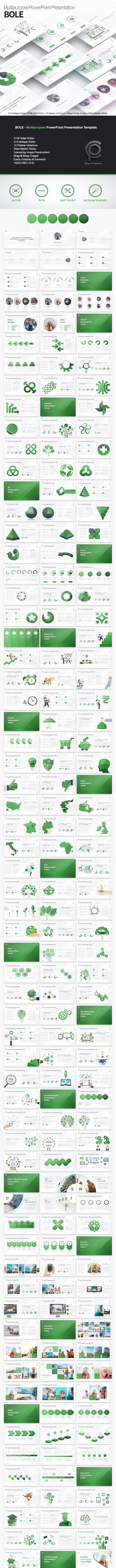 Bole - Multipurpose PowerPoint Presentation - Business PowerPoint Templates