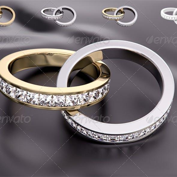 Wedding Diamond Rings