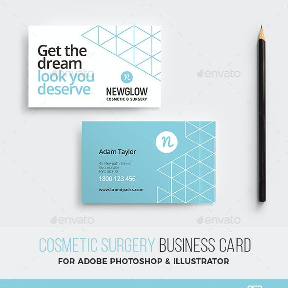 Cosmetic Business Card Template