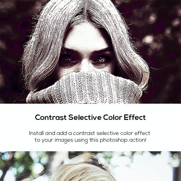 Contrast Selective Color Effect