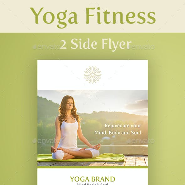 Yoga Flyer Double Sided