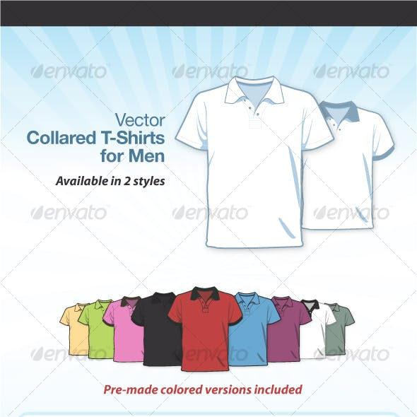 Collared T-Shirts for Men