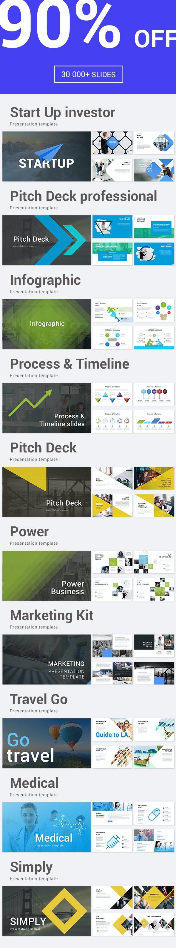 Bundle Keynote - Business Keynote Templates