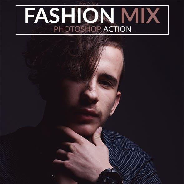 16 Fashion Mix Photoshop Actions
