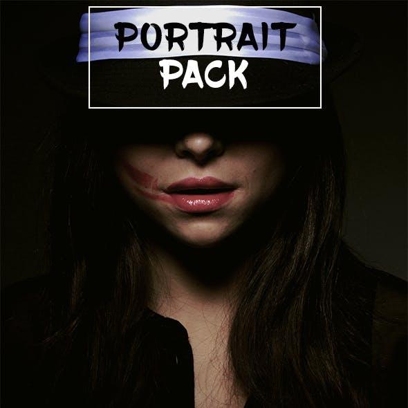 10 Portrait Pack Photoshop Actions