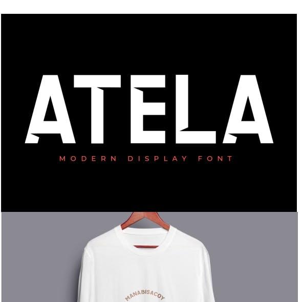 ATELA - BOLD FONT