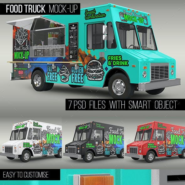Food Truck Mock-Up