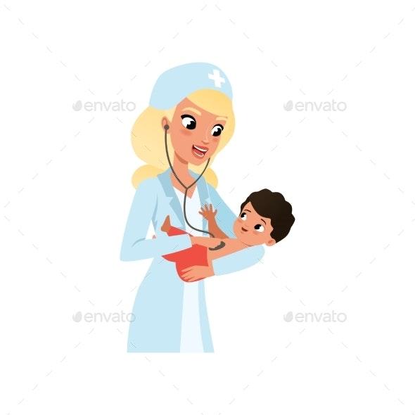 Female Pediatrician - Health/Medicine Conceptual