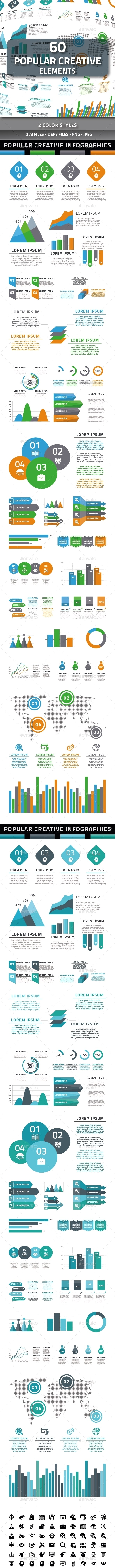 Popular Creative Elements - Infographics