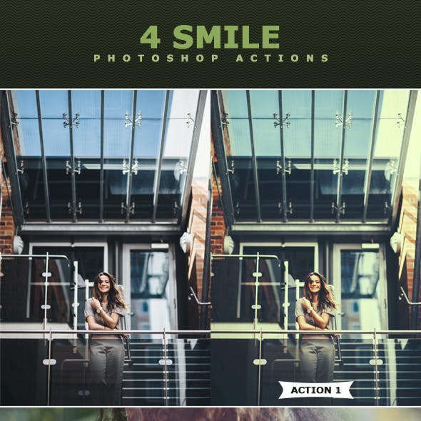 Smile Photoshop Actions