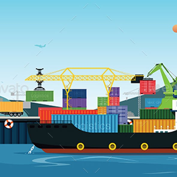 Sea Transportation Logistic