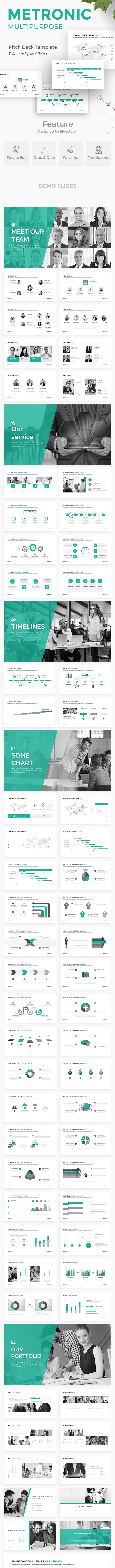 Metronic Business Proposal Powerpoint Template - Business PowerPoint Templates
