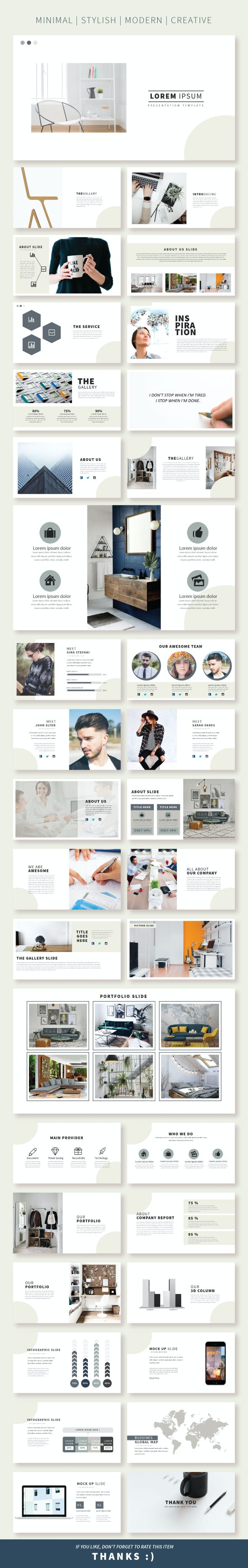 Lorem Pptx Template - Creative PowerPoint Templates