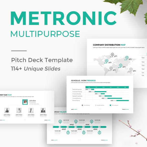 Metronic Business Proposal Keynote Template