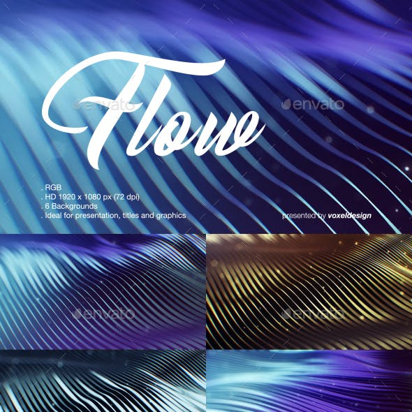 Flow Backgrounds Pack