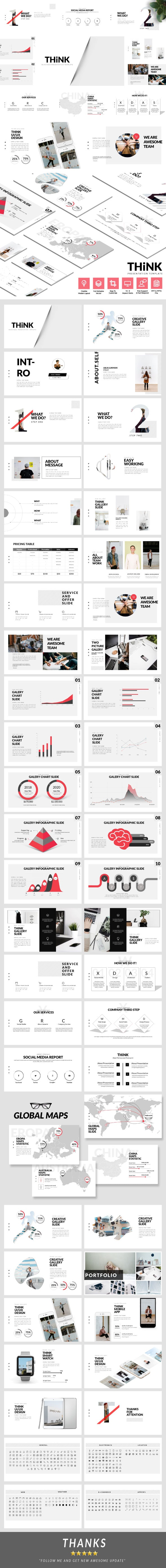 Think - Business Presentation Template - Business PowerPoint Templates