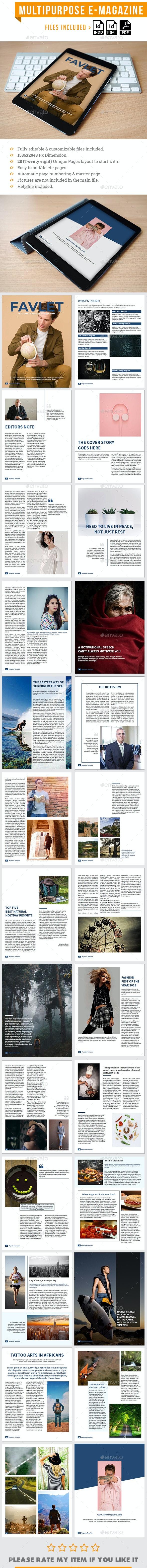 Multipurpose E Magazine - Digital Magazines ePublishing