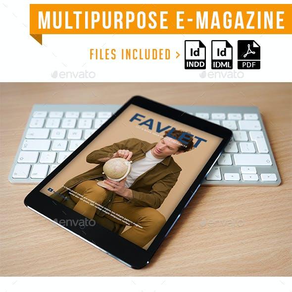 Multipurpose E Magazine