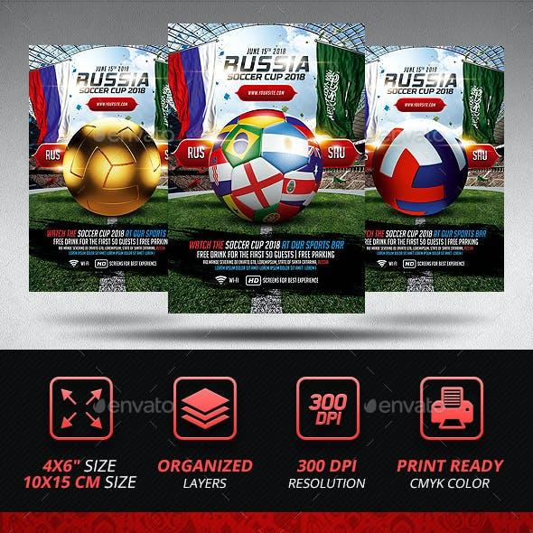 Soccer World Championship Flyer Template