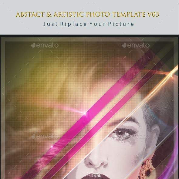 Abstact & Artistic Photo Template v04
