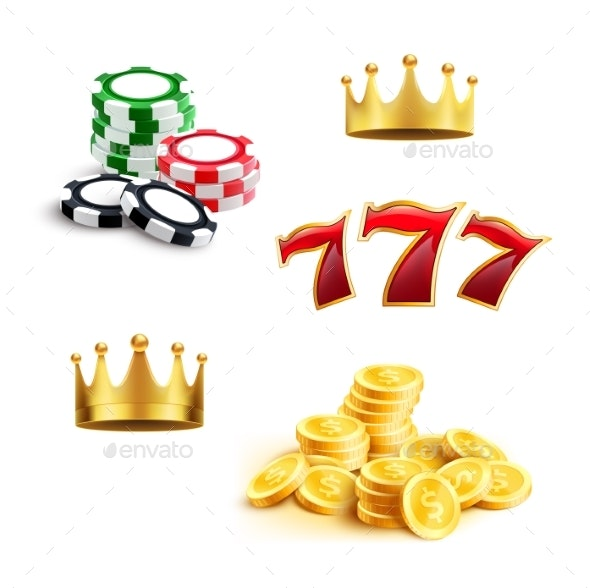 Casino Icons - Man-made Objects Objects