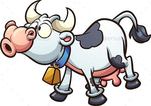 Mooing Cow - Animals Characters