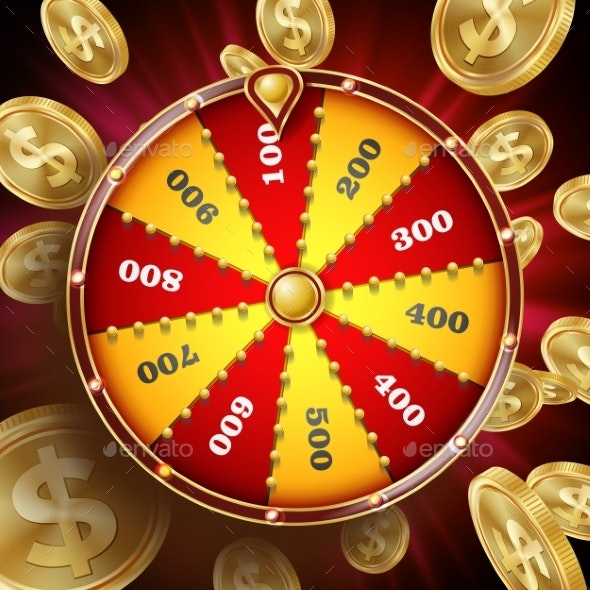Fortune Wheel Vector - Backgrounds Decorative