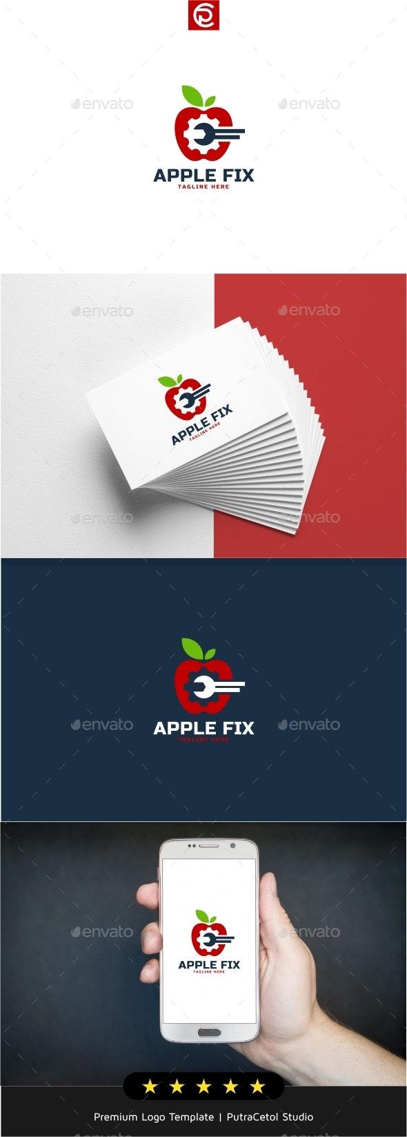 Apple Repair Logo - Symbols Logo Templates