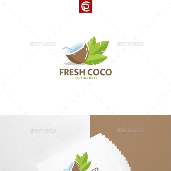 Fresh Coco Water Logo