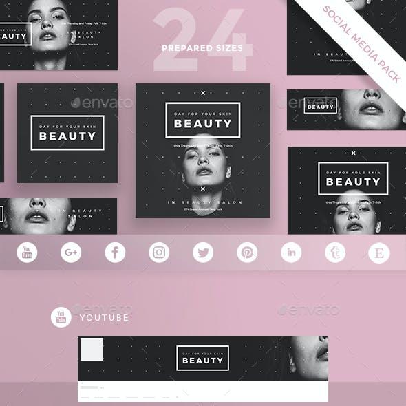 Beauty Salon Social Media Pack