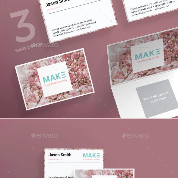 Beauty Studio Business Card