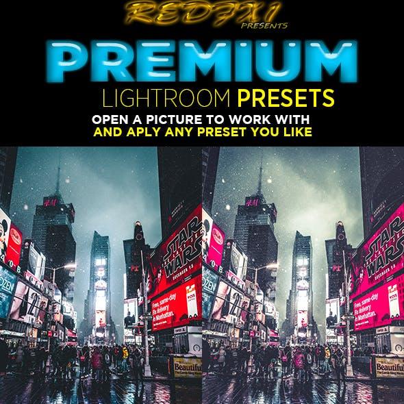 20 Pro Cinematic Lightroom Preset