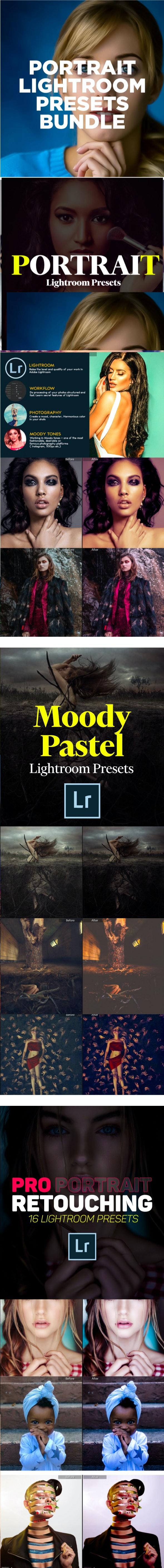 Portrait Lightroom Presets Bundle - Portrait Lightroom Presets