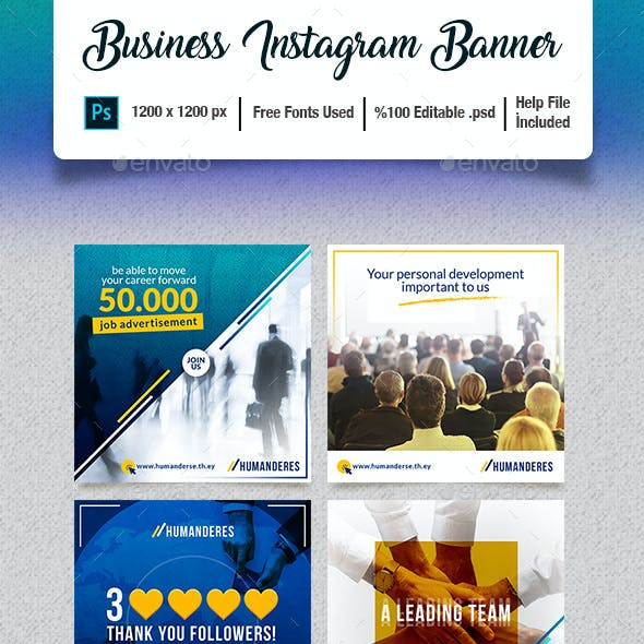 Business Instagram Banner