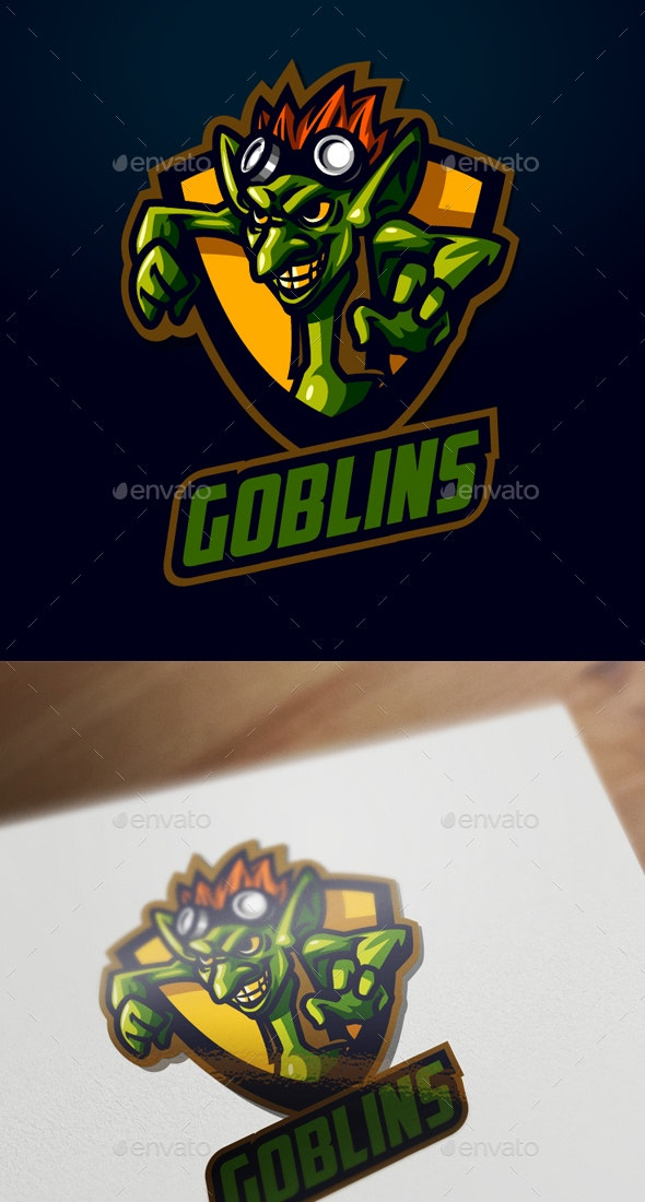 Esports Goblin Logo - Sports Logo Templates