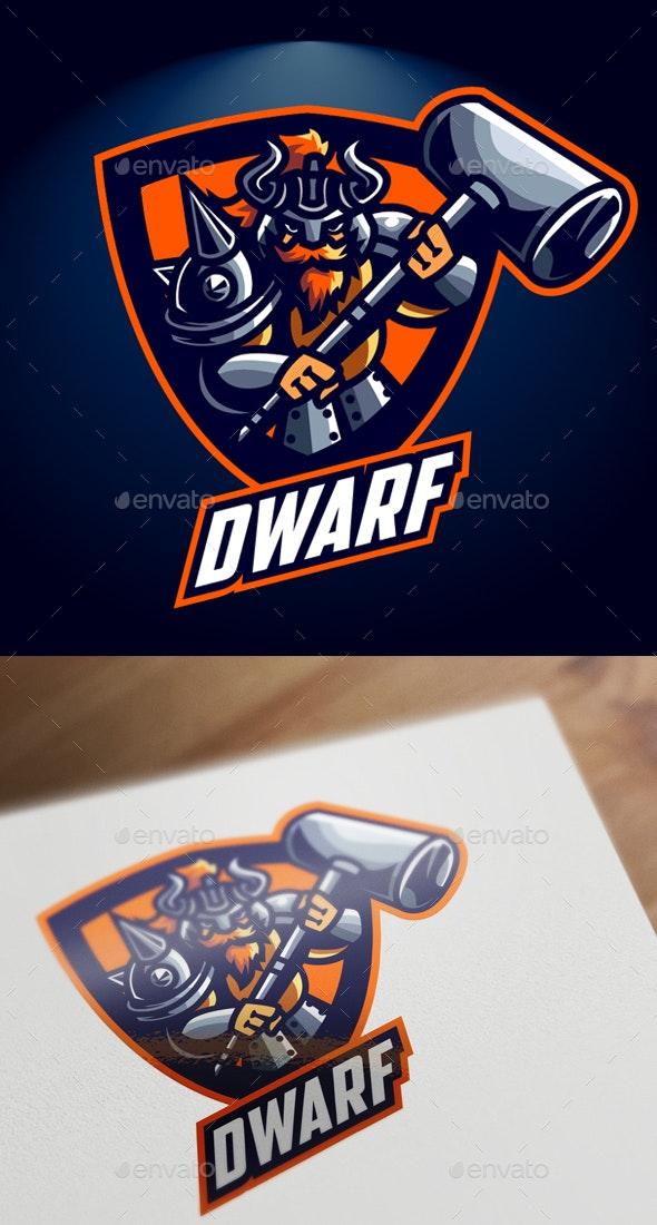 Esports Dwarf Logo - Sports Logo Templates