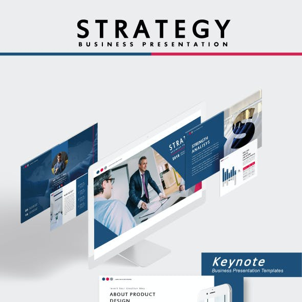 Strategy Business Keynote Templates