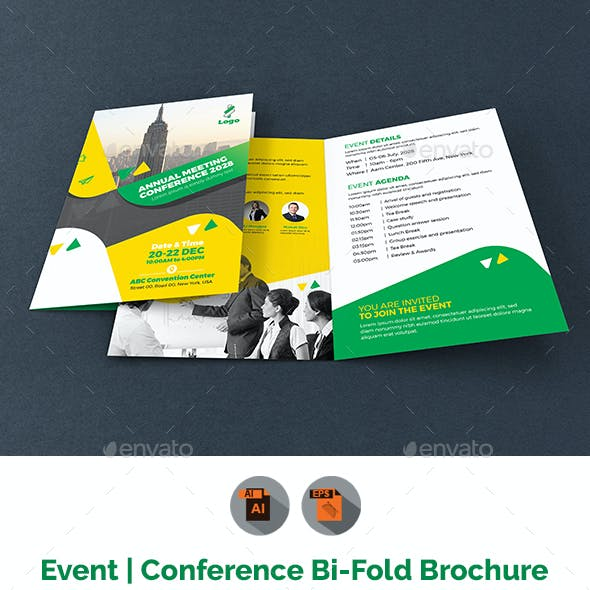 Event/Summit/Conference Bifold Brochure