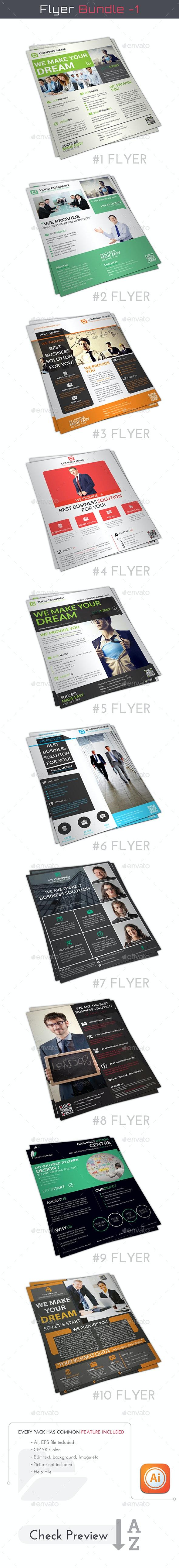 Corporate Flyer Bundle - Flyers Print Templates