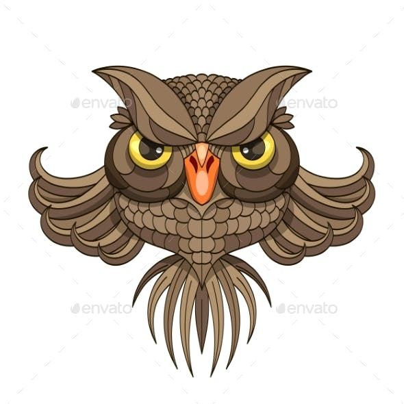 Owl - Vector Illustration