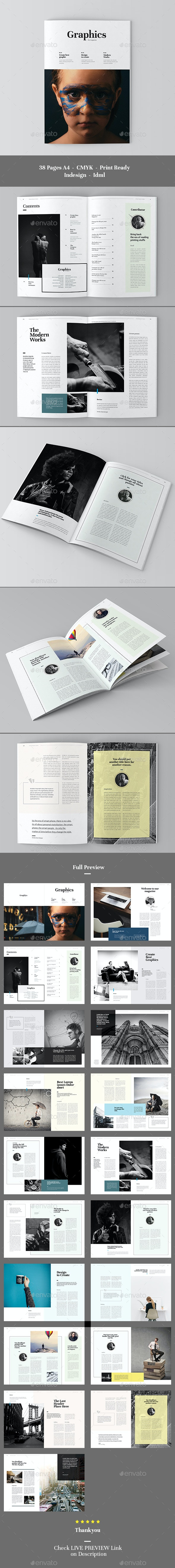 Graphics Magazine - Magazines Print Templates