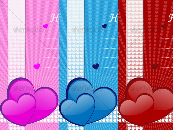 Valentine's Day Background Card - Backgrounds Decorative