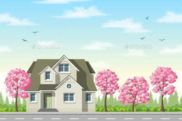 Classic House - Buildings Objects