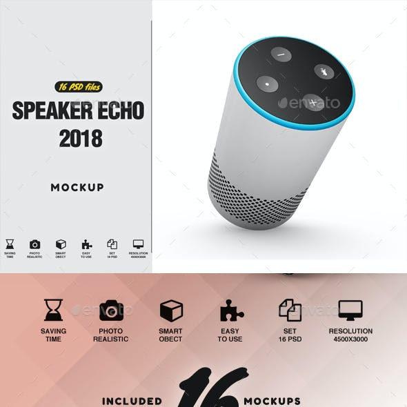 Speaker 2018 Mockup