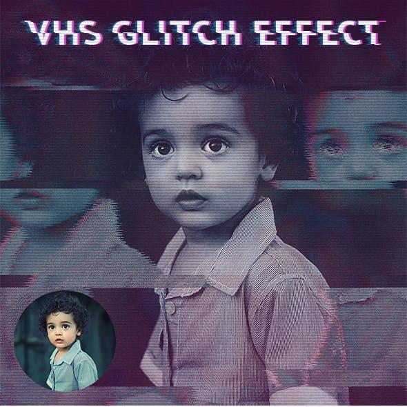 VHS Glitch Effect