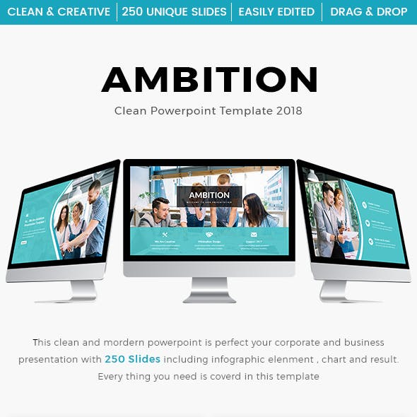 Ambition - Multipurpose PowerPoint Template