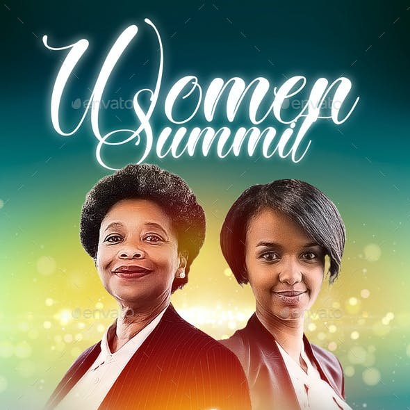 Women Summit Flyer Template