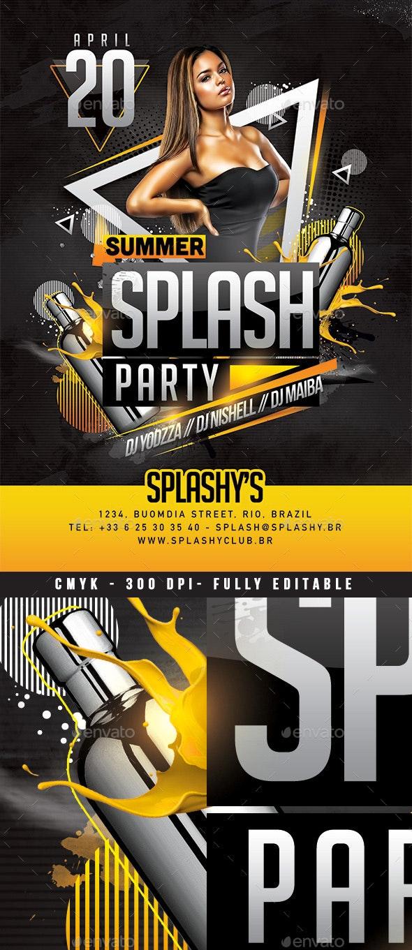 Splash Party - Clubs & Parties Events