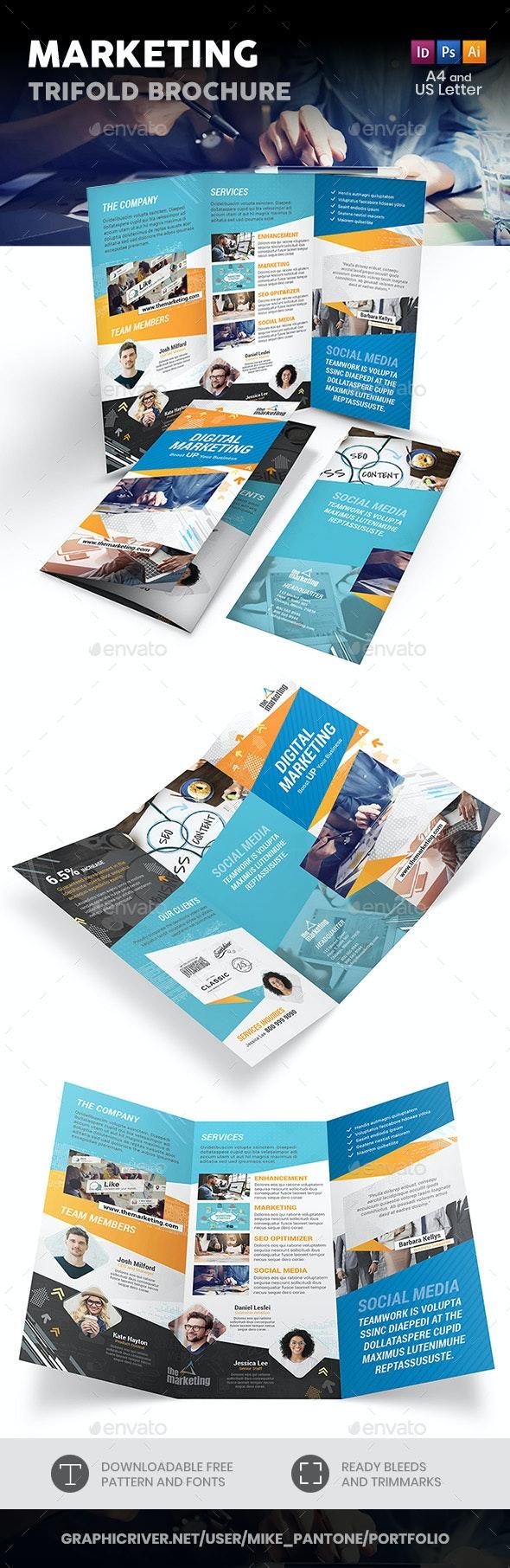 Marketing Trifold Brochure - Informational Brochures